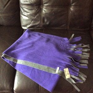 NWT Double Layer Scarf